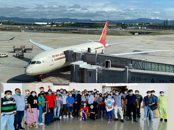 Vande Bharat flight with 233 Indians departs from China's Guangzhou