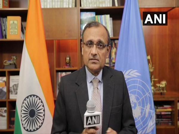 TS Tirumurti, Permanent Representative of India to UN (File photo)