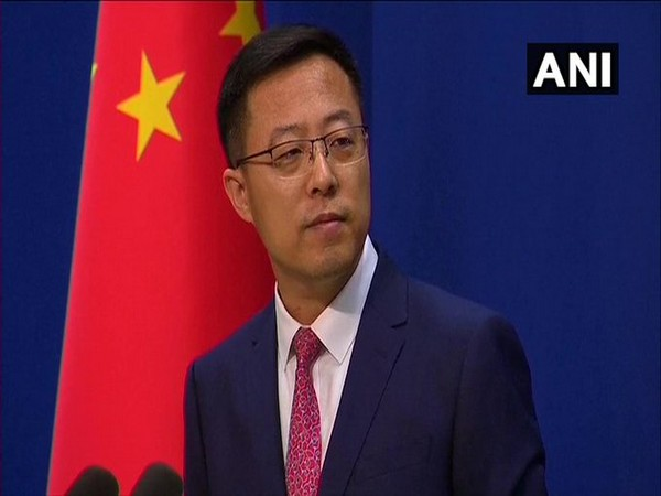 Zhao Lijian, Chinese Foreign Ministry spokesperson