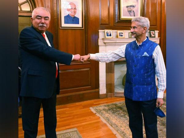 External Affairs Minister S Jaishankar meets former Afghan vice president Abdul Rashid Dostum