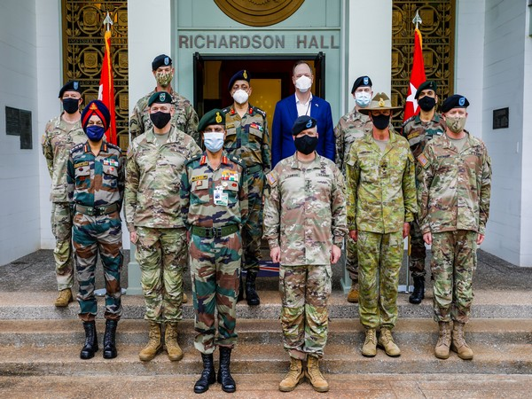 Vice-Chief of Army Staff Lt Gen. S K Saini at the US Indo-Pacific command. (Photo Credit: US Army Pacific Twitter)