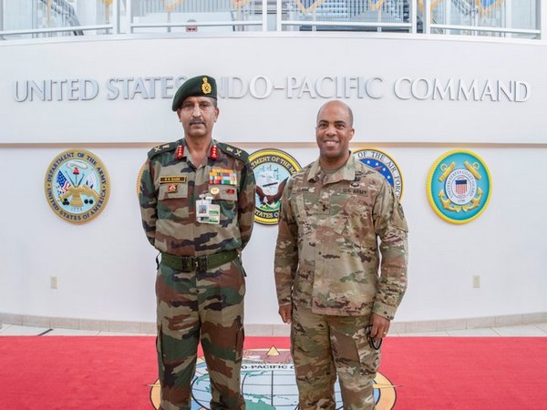 Lt General Satinder K Saini, Vice Chief of Army Staff on Monday (local time) met with Major General Ronald P Clark, Chief of Staff of US Indo-Pacific Command