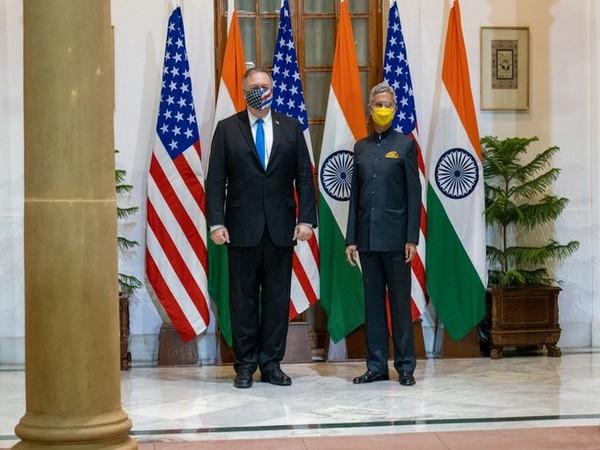 External Affairs Minister S Jaishankar and US State Secretary Mike Pompeo