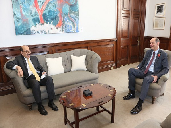 Foreign Secretary Harsh Vardhan Shringla held talks with Philip R Barton, Permanent Under Secretary at the Foreign, Commonwealth and Development Office