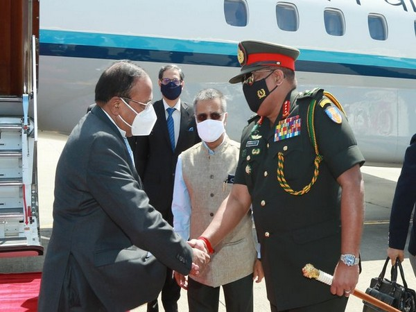 National Security Advisor Ajit Doval on Friday arrived in Colombo