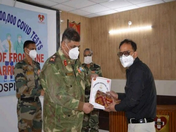 1 lakh COVID-19 tests done till now including 35k tests for residents of five districts of J-K, says Northern Command