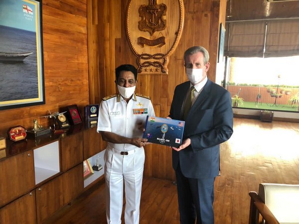 The High Commissioner's visit was significant as it coincided with the recently concluded Quad exercise MALABAR 2020
