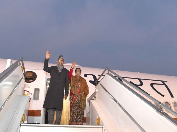 President Ram Nath Kovind with wife Savita Kovind will visit Tirumala on Tuesday. [Photo/ANI]