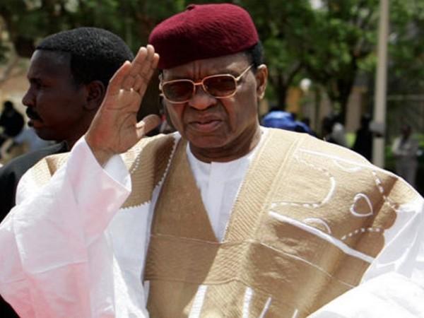 Niger's former President Mamadou Tandja