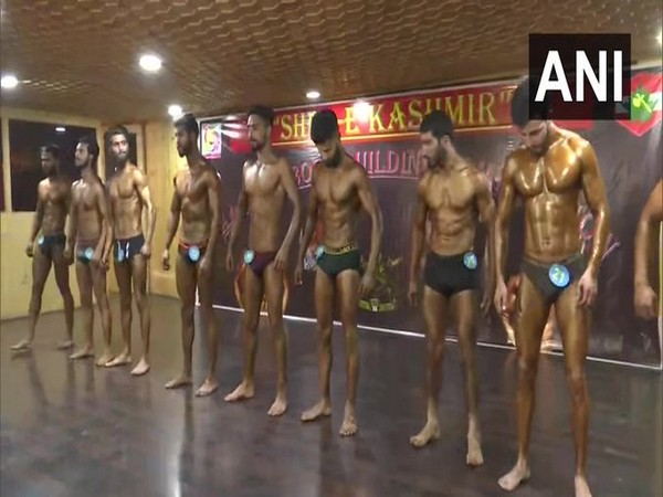 "The Indian Army organised ""Sher-e-Kashmir"", a bodybuilding competition in Srinagar (Photo/ANI)"
