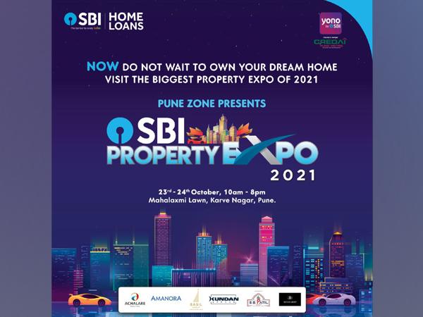 SBI Home Loans to hold Pune's biggest property expo at Mahalaxmi Lawns, Karve Nagar on 23rd & 24th October 2021