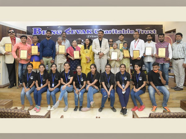 Being Sevak Charitable Trust hosts the National Awards function to recognise the talent of India's visually challenged achievers