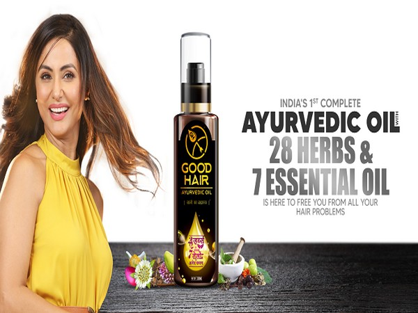 Good Hair- India's first complete Ayurvedic oil with 28 herbs and 7 essential oils