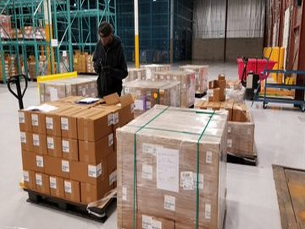 First consignment of HCQ tablets reaches in Canada (Picture Credits: Consulate General of India in Toronto Twitter)