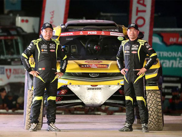 China's Han Wei wins 1st stage of Taklimakan Rally