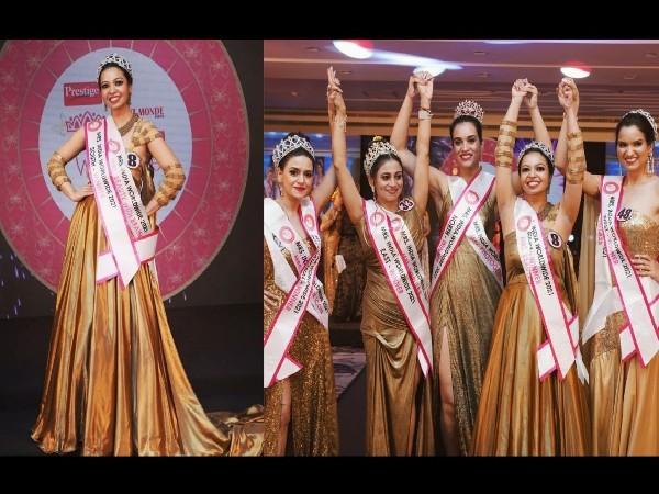 Amisha Sethi grabs Haut Monde Mrs. India Worldwide 2021 title at Grand Finale in UAE