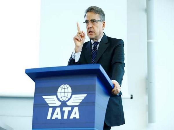 IATA's Director General and CEO Alexandre de Juniac (file photo)