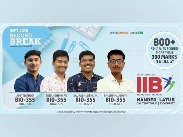 IIB - The One-Stop Solution Physics, Chemistry & Biology Classes for NEET and MHT-CET