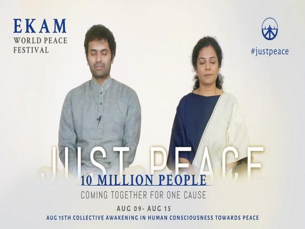 Ekam starts largest online meditation festival on the globe to foster world peace