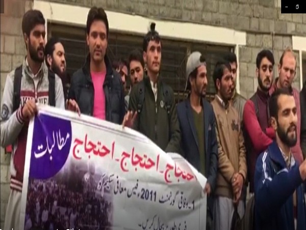 Students in Gilgit intensify protests against fee hike.