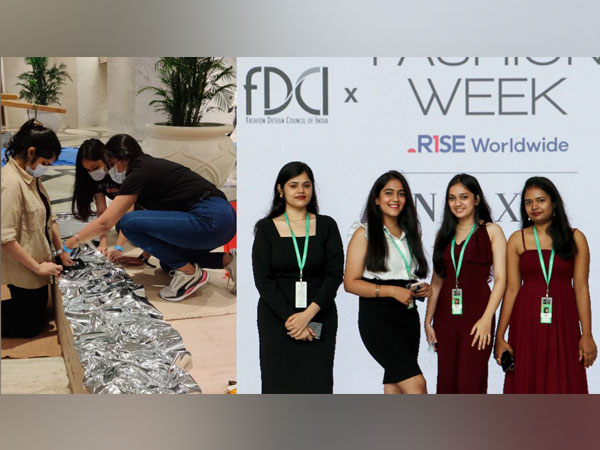 INIFD students designed sets of designer fashion shows at FDCI x Lakme Fashion Week