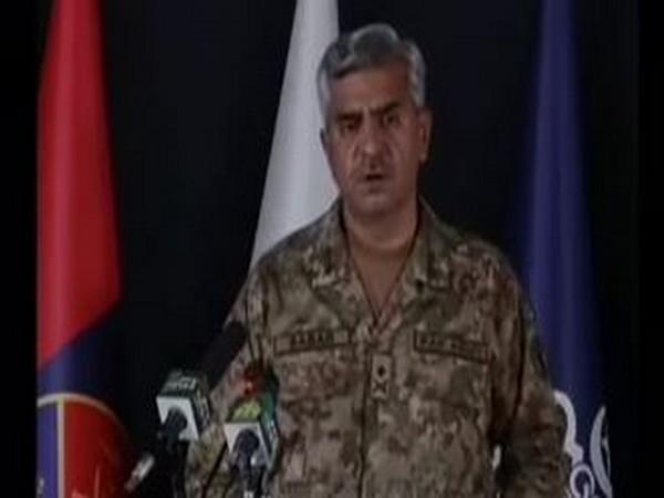 DG-ISPR Major General Babar Iftikhar addresses press conference in Rawalpindi about troops deployment.
