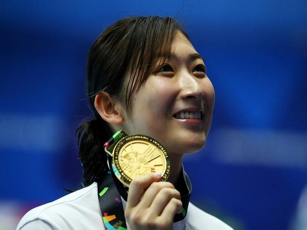 Ikee Rikako named `Most Valuable Player` of Asian Games
