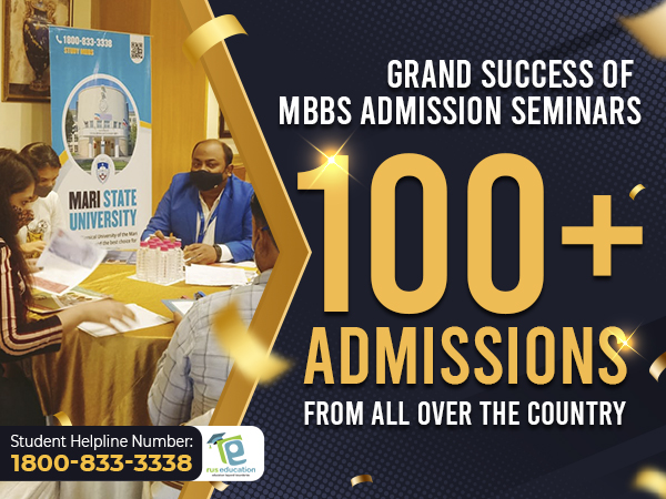 Rus Education's MBBS Admission Seminars: over 100 enrollments in top Russian medical universities from 20 cities in 2 days