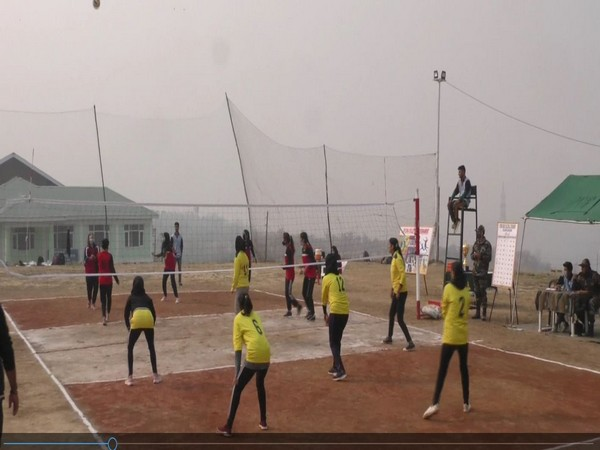 Indian Army organises volleyball tournament for girls in J-K