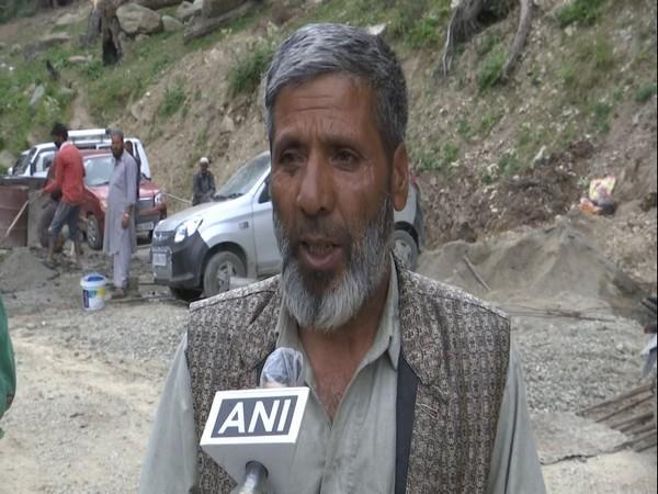 Locals hail construction of road at Bangus valley in J-K's Kupwara district