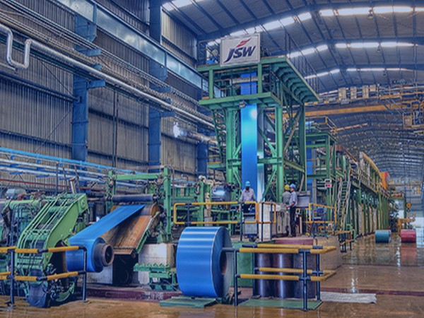 JSW Steel production up 9 pc in July at 12.46 lakh tonnes
