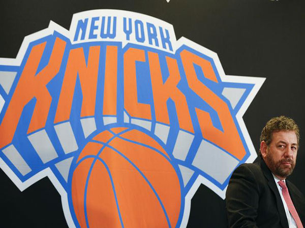 Knicks owner James Dolan sued for excessive pay, spending too much time with his band