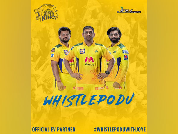 Joy e-bike becomes CSK's official electric vehicle partner for the upcoming IPL 2021; Launches new digital campaign #WhistlePoduWithJoye""
