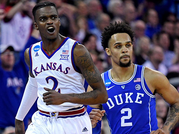 Kansas remains No. 1 in latest USA TODAY Sports men's basketball coaches poll