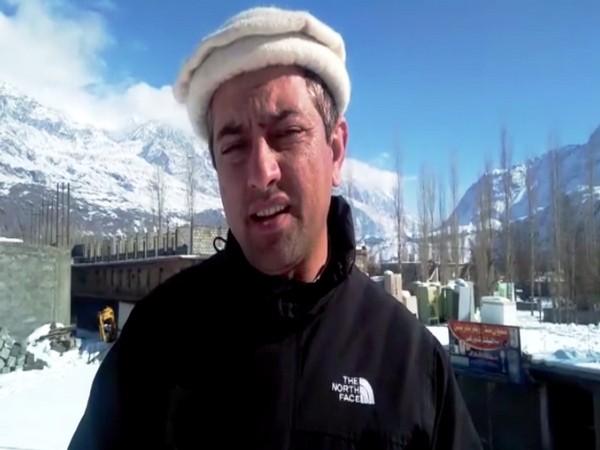 Khadim Hussain, a resident of Gilgit in PoK