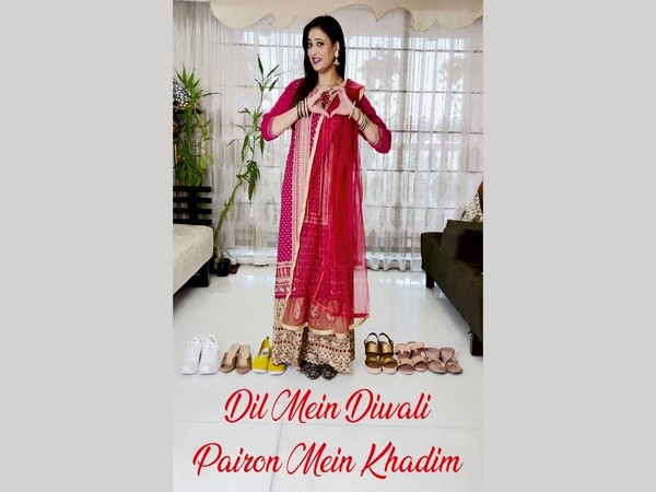 Khadim launches #DilmeinDiwaliPaironMeinKhadim campaign with ever-gorgeous Shweta Tiwari