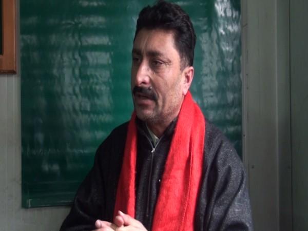 Khuwaja Arif Mustafai, an activist and resident of Neelum Valley in PoK.
