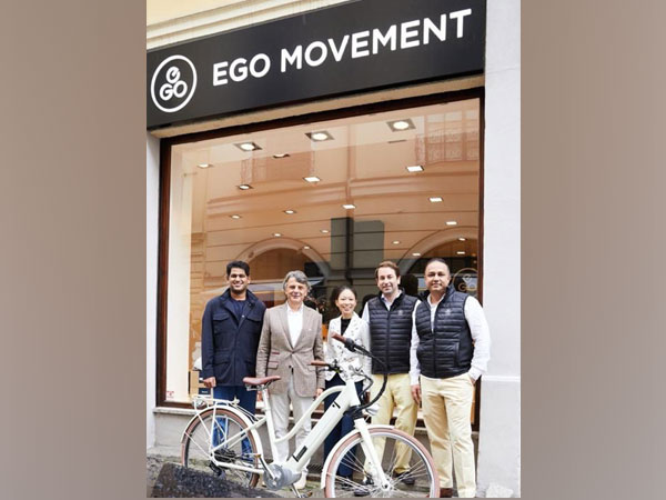 Sudarshan Venu, Joint Managing Director TVS Motor Company, announces majority stake acquisition in European E-Bike Brand EGO Movement