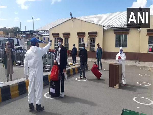 Domestic flight operations resumed in Leh, Ladakh. [Photo/ANI]