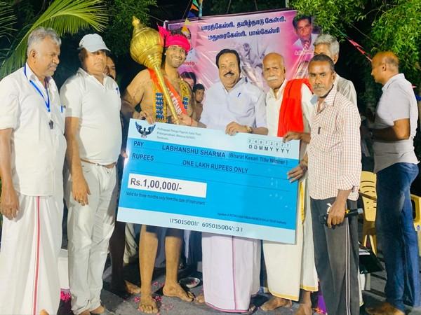 Labhanshu Sharma wins Bharat Kesari Wrestling Dangal for Uttrakhand