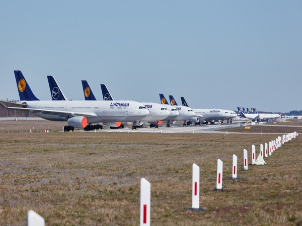 The airline employs more than 135,000 people worldwide, about half of them in Germany