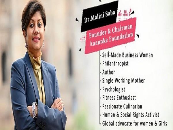 Dr Malini Saba, Founder and Chairman, Anannke Foundation