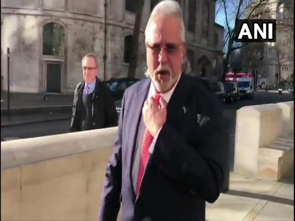 Vijay Mallya speaks to media outside UK High Court.