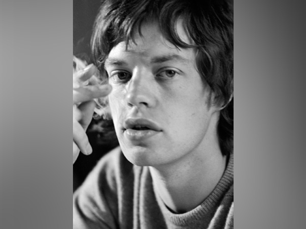 Singer Mick Jagger