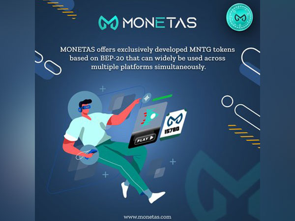 MONETAS: A new generation blockchain gaming solution with BEP-20 based tokens