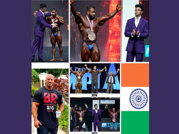 Indian flag, Vande Mataram at Mr Olympia's stage for first time; Sahil Khan does country proud