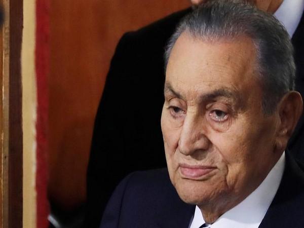 Former Egyptian President Hosni Mubarak (File pic)