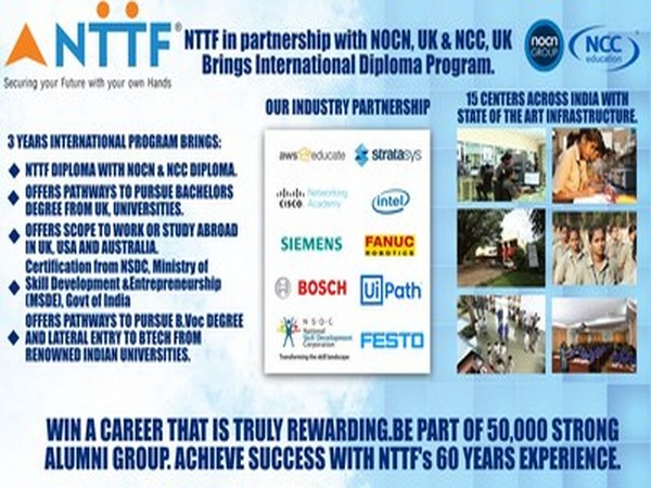 NTTF's free webinar on International Diploma