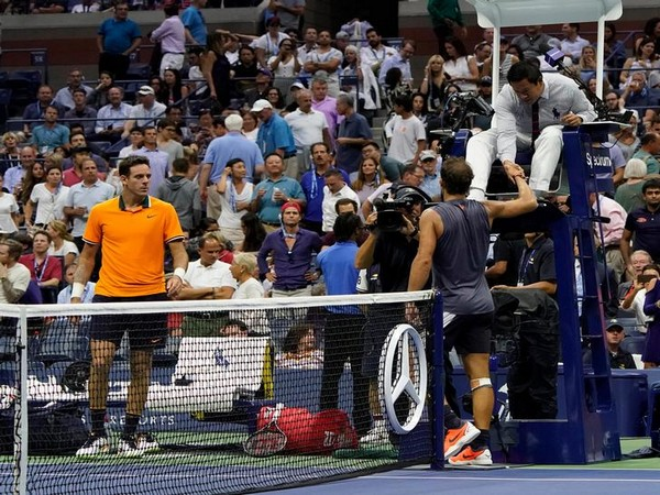 US Open: 'Injured' Nadal's retirement hands del Potro final berth