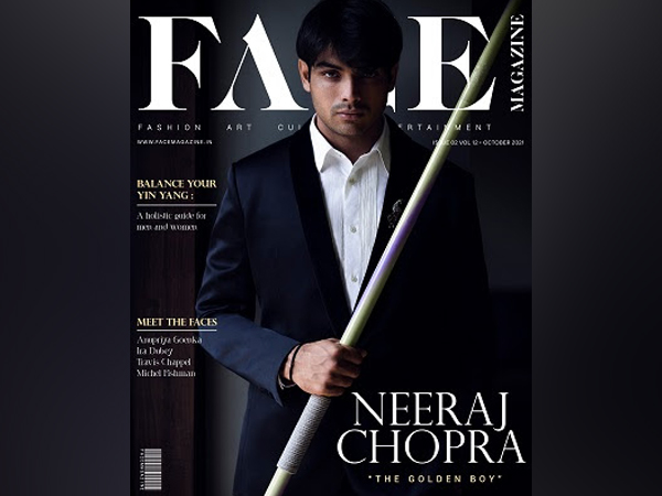 India's Golden Boy, Neeraj Chopra, shines on cover of FACE Magazine